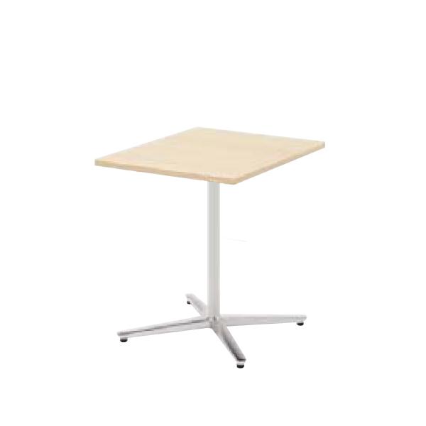 ウチダ ミーティングテーブル ニュート MX6075 十字脚 正方形 長方形タイプ ポリッシュ脚 6-178-161/6-178-111