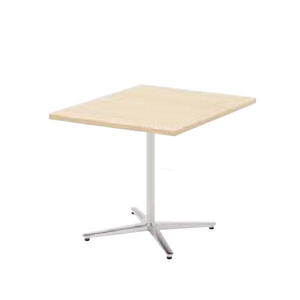 ウチダ ミーティングテーブル ニュート MX7575 十字脚 正方形 長方形タイプ ポリッシュ脚 6-178-162/6-178-112