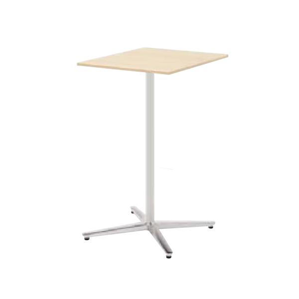 ウチダ ミーティングテーブル ニュート HX6060 十字脚 正方形 長方形タイプ ポリッシュ脚 6-178-260/6-178-210