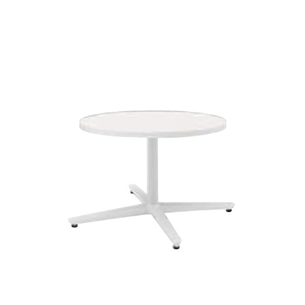 ウチダ ミーティングテーブル ニュート LX0600 十字脚 サークルタイプ 塗装脚 6-178-055/6-178-005