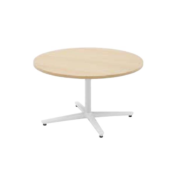 ウチダ ミーティングテーブル ニュート LX0900 十字脚 サークルタイプ 塗装脚 6-178-057/6-178-007
