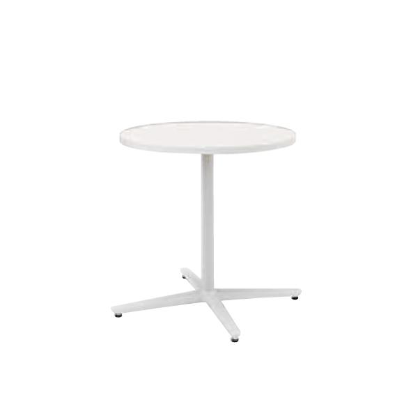 ウチダ ミーティングテーブル ニュート MX0600 十字脚 サークルタイプ 塗装脚 6-178-155/6-178-105