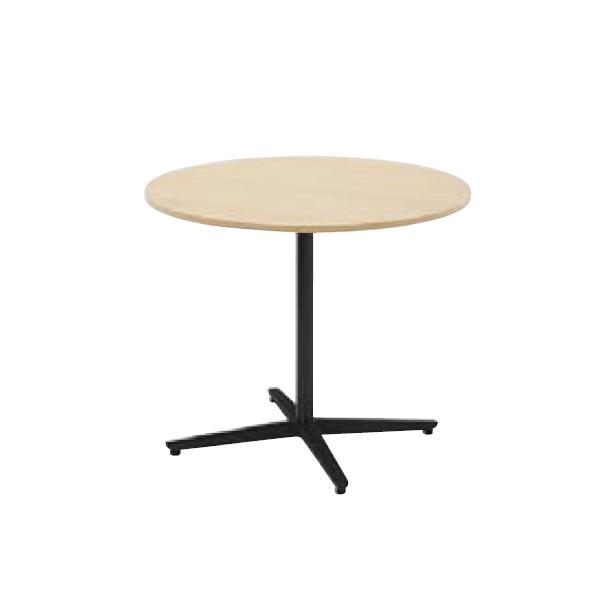 ウチダ ミーティングテーブル ニュート MX0900 十字脚 サークルタイプ 塗装脚 6-178-157/6-178-107