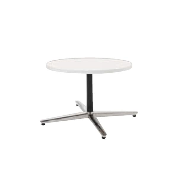 ウチダ ミーティングテーブル NEUT LX0600 十字脚 サークルタイプ ポリッシュ脚 6-178-0650/6-178-0653/6-178-0150/6-178-0153