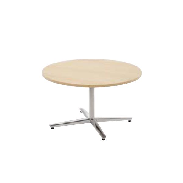ウチダ ミーティングテーブル ニュート LX0900 十字脚 サークルタイプ ポリッシュ脚 6-178-067/6-178-017