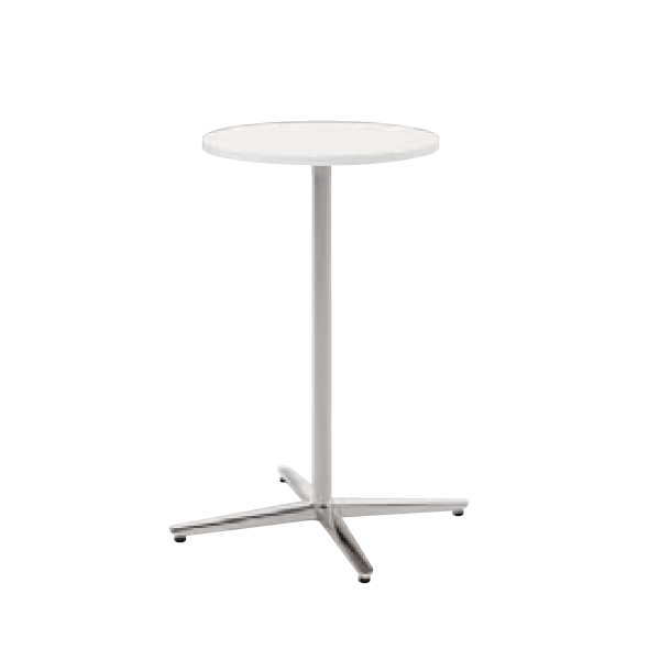 ウチダ ミーティングテーブル NEUT HX0600 十字脚 サークルタイプ ポリッシュ脚 6-178-2650/6-178-2653/6-178-2150/6-178-2153