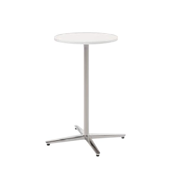 ウチダ ミーティングテーブル ニュート HX0600 十字脚 サークルタイプ ポリッシュ脚 6-178-265/6-178-215