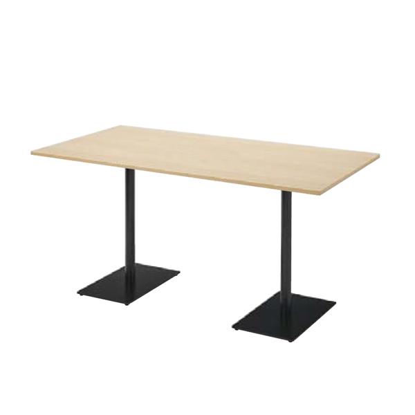 ウチダ ミーティングテーブル ニュート MWB1575 ダブルベース脚 長方形タイプ 6-178-3710/6-178-3713
