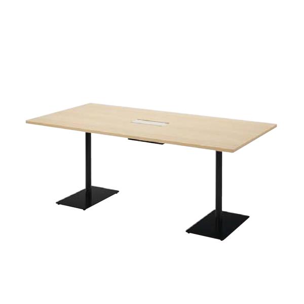 ウチダ ミーティングテーブル ニュート MWB1890C ダブルベース脚 長方形タイプ 6-178-3780/6-178-3783