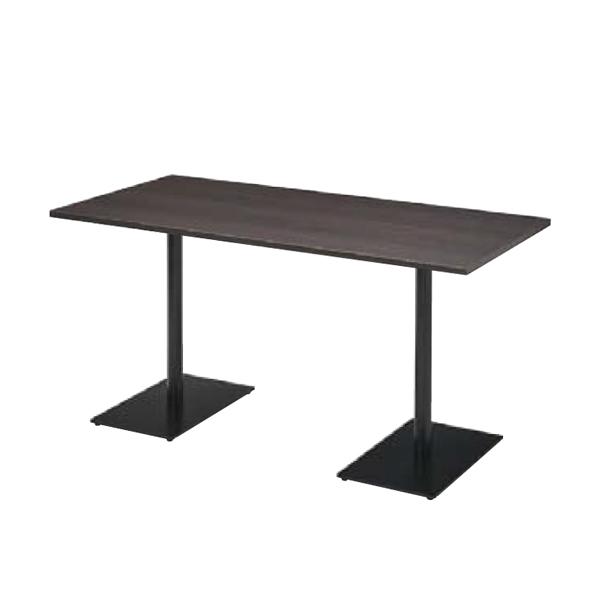ウチダ ミーティングテーブル ニュート MWB1275 ダブルベース脚 長方形タイプ 6-178-3702/6-178-3706