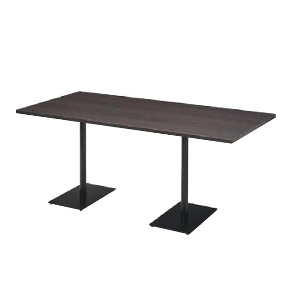 ウチダ ミーティングテーブル ニュート MWB1875 ダブルベース脚 長方形タイプ 6-178-3722/6-178-3726