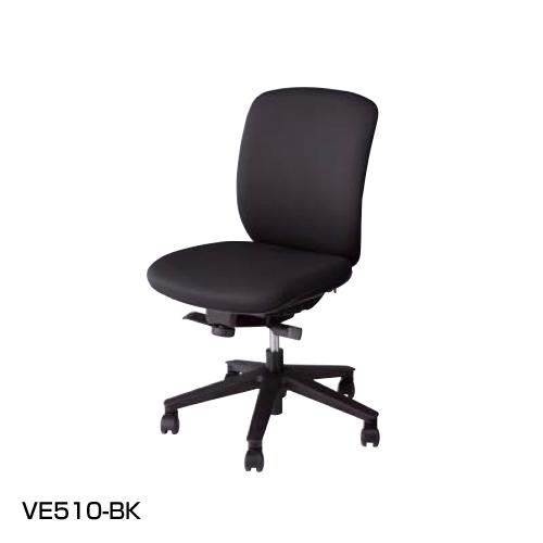 ナイキ ヴィアーレ(VIALE)チェア ミドルバック ビニールレザー張り 肘なし VE510-BL/VE510-BK