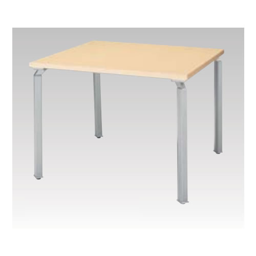 ナイキ NAIKI WAKE ウエイク ミーティングテーブル(WK型) 角パイプ脚 脚シルバー  H720mmタイプ W900×D900×H720 WKH0990MT-SVH/WKH0990MT-SVS/WKH0990MT-SVZ