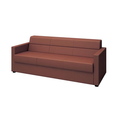 ナイキ NAIKI 応接セット ZRE152型 ソファー 布張り W1830×D760×H700 ZRE152LF-BR