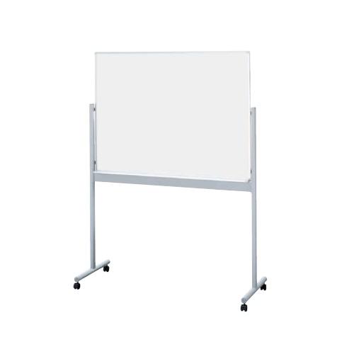 ナイキ ホワイトボード  片面スチールホワイトボード(片面ホワイト)  W1281×D532×H1709 BBE812