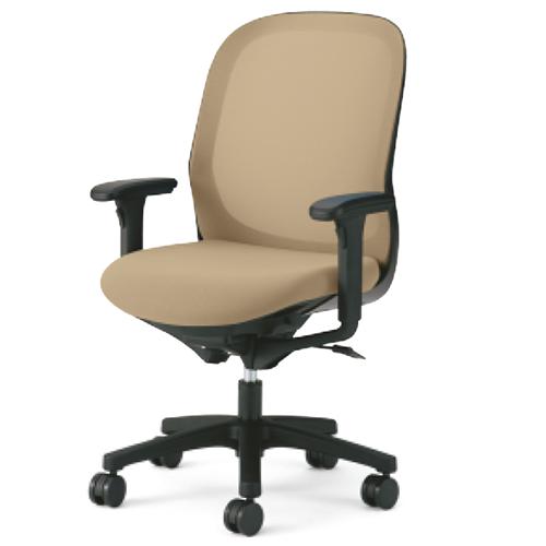 プラス PLUS オフィスチェア Fita フィータチェア メッシュ ハイバック  Compact leg アジャスト肘 ブラックフレーム 樹脂脚 KD-FT60ML 657-44*