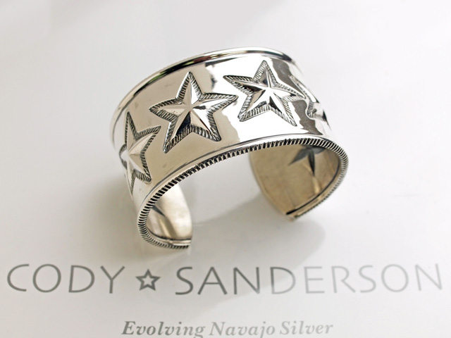 【直輸入純正品】 CODY SANDERSON コディサンダーソン 02-0431 6スター・コインエッジ・ブレスレット