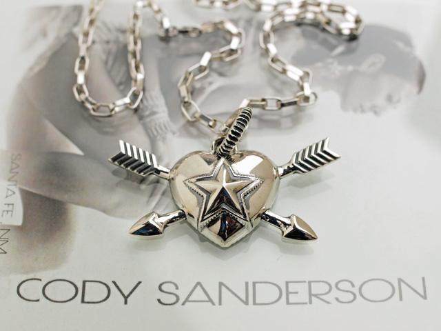 【直輸入純正品】 CODY SANDERSON コディサンダーソン 03-0657 ハート・スター・ダブルアロー・ペンダント
