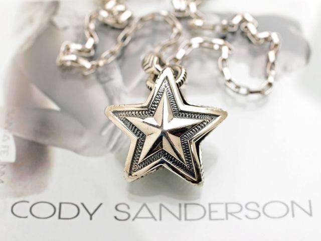 【直輸入純正品】 CODY SANDERSON コディサンダーソン 03-0658 リバーシブル・スター・アロー・ベイル・ペンダント