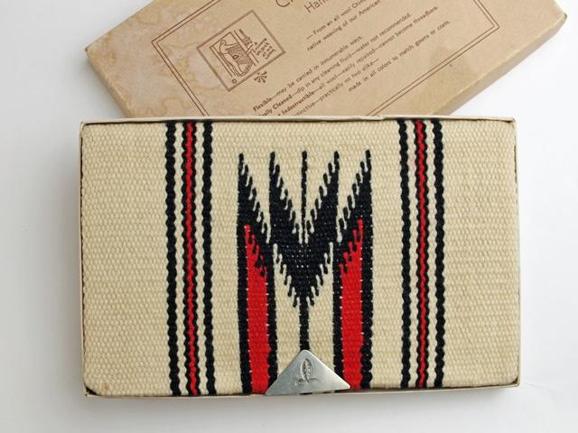 ビンテージ・チマヨ・パース VCP-028 1950年代 ガンズクラフト製 ナチュラルホワイト (オリジナルボックス入り)