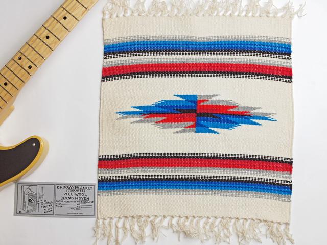 Ganscraft(ガンズクラフト) デッドストック・チマヨ・ブランケット GB1515-005 38x38cm ホワイト