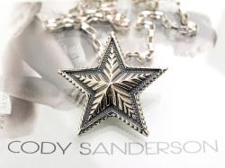【直輸入純正品】 CODY SANDERSON コディサンダーソン 03-0659 ビッグ・スター・ペンダント