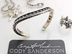 【直輸入純正品】 CODY SANDERSON コディサンダーソン 02-0440 クラウド&スター・カーブド・ブレスレット