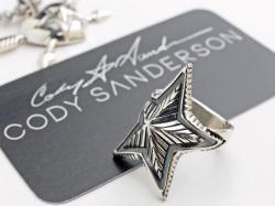 【直輸入純正品】 CODY SANDERSON コディサンダーソン 01-0277 スモール・デップ・スター・スクエアリング