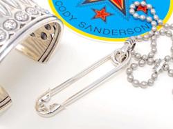 【直輸入純正品】 CODY SANDERSON コディサンダーソン 03-0701 ピンナップスター・セーフティーピン・ペンダント