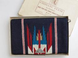 ビンテージ・チマヨ・パース VCP-031 1950年代初期 フレッド・ハーヴィー「エル・グランディー」 ネービーブルー(オリジナルボックス入り)