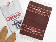 【限定生産カラー】 Ortega's オルテガ 84PM-188 手織りチマヨ・プレイスマット(ランチョンマット) ミディアムブラウン