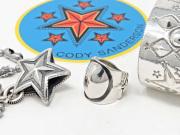 【直輸入純正品】 CODY SANDERSON コディサンダーソン 01-0294 ビッグ・プラネット・リング