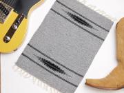 Ortega's オルテガ 84PM-185 手織りチマヨ・プレイスマット(ランチョンマット) ヘザーグレー