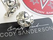 【直輸入純正品】 CODY SANDERSON コディサンダーソン 01-0251 ムーン・スイートピー・ストレートエッジ・リング