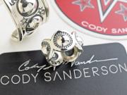 【直輸入純正品】 CODY SANDERSON コディサンダーソン 01-0270  ムーン・スイートピー・スキャロップエッジ・リング