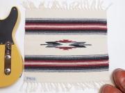 Ortega's オルテガ 841515-099 手織りチマヨブランケット 38x38cm ホワイト