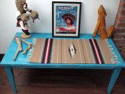 Ortega's オルテガ 841530-113 手織りチマヨブランケット 38x76cm ベージュ ※動画あり