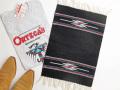 【限定生産カラー】 Ortega's オルテガ 84PM-187 手織りチマヨ・プレイスマット(ランチョンマット) ブラック