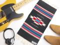 【限定生産カラー】Ortega's オルテガ 841020-160 手織りチマヨブランケット 25x50cm ブラック