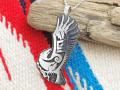ホピ 23-0374 ベラ・タワホングヴァ作 「フライング・イーグル」ペンダント
