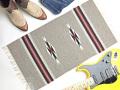 【限定色】 オルテガ 841530-139 手織りチマヨ・ブランケット 38x76cm ピーカンヘザー