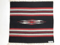 【限定生産カラー】オルテガ 842020-073 手織りチマヨブランケット 50x50cm ブラック