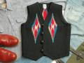 【限定生産カラー】 Ortega's オルテガ 手織りチマヨベスト 83RG-36313 サイズ36 ブラック