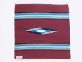 【限定生産カラー】 Ortega's オルテガ 842020-083 手織りチマヨブランケット 50x50cm ワインレッド