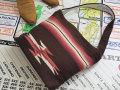 【限定色】オルテガ 手織りチマヨ・ショルダー・トートバッグ 87ST-083 ダークブラウン