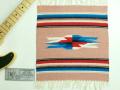 Ganscraft(ガンズクラフト) デッドストック・チマヨ・ブランケット GB1515-012 38x38cm ピーチ(サーモン)
