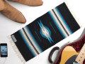 【限定色】オルテガ 841020-126 手織りチマヨ・ブランケット 25x50cm ブラック