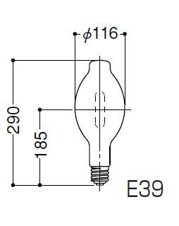 岩崎電気 FECマルチハイエースH MF300LSH/BUP 蛍光形300W