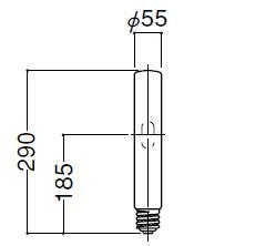 岩崎電気 FECマルチハイエースH MT400LSH/BH 透明形400W(点灯方向:水平点灯)