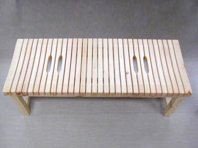 長椅子 (山形) M型